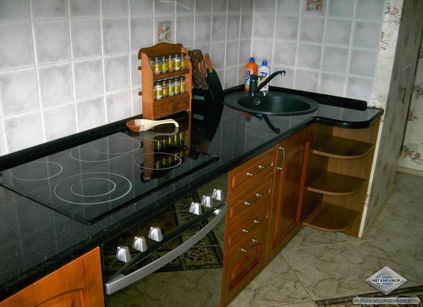 Кухня после монтажа